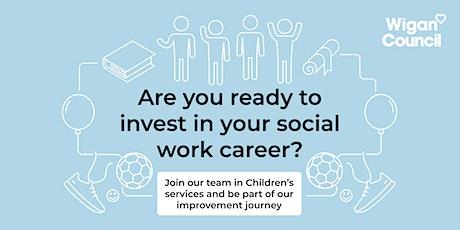 Children's Social Work Virtual Recruitment Event tickets