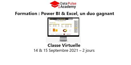 Power BI & Excel, un duo gagnant  - 2 jours - 14 & 15 Septembre 2021 billets