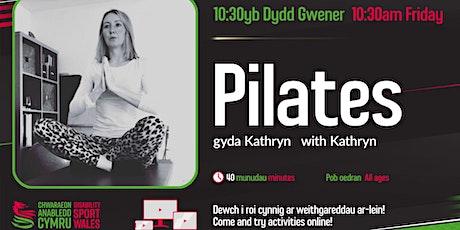 Copy of Free Virtual Pilates tickets