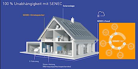 Webinar SENEC 360° - Das ganzheitliche Energie-Ökosystem für dein Zuhause Tickets