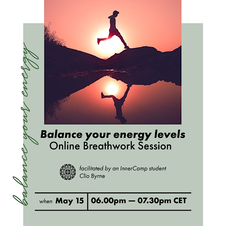 """""""Balance your enegry"""" online breathwork session image"""