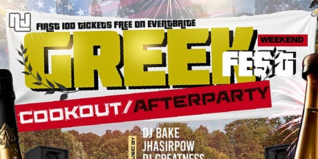 Greekfest Cookout & AfterParty tickets