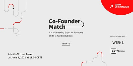 Co-Founder Match  Vol.6 Online Edition tickets
