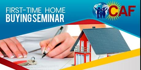 First Time Home Buying Seminar/Clase para Primeros Compradores de Vivienda entradas
