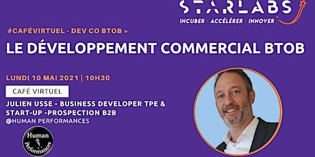 #CaféVirtuel - Développement Commercial BToB » billets