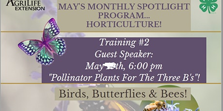 Horticulture Training #1 tickets