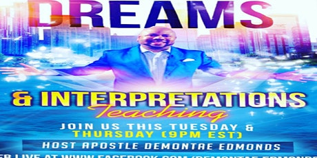 Prophetic Dreams & Interpretation Online Workshop tickets