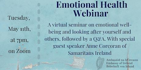 Emotional Health Webinar Tickets