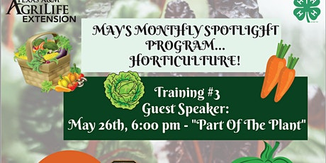 Horticulture Training #3 tickets