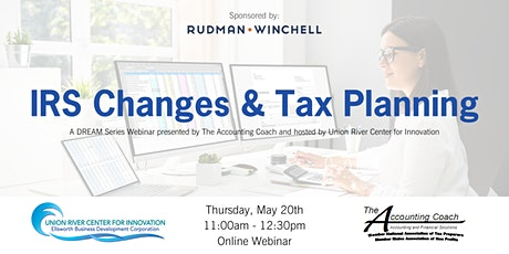 IRS Changes & Tax Planning (Free Webinar) tickets