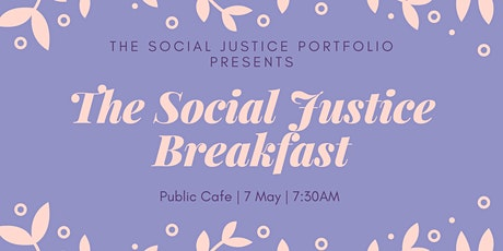 Social Justice Breakfast tickets