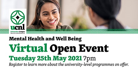 Mental Health and Well Being Virtual Open Event - May tickets