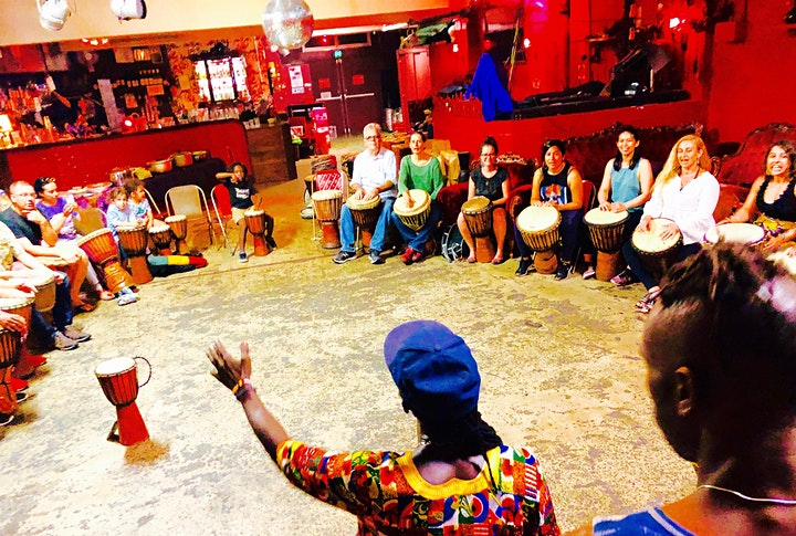 Rhythms For Life : African Drum Workshops for Young People MARRICKVILLE image