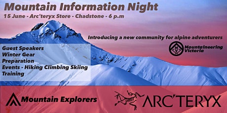 Mountain Information Night with Arc'teryx - Gear and Events tickets