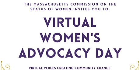 MCSW's Virtual Women's Advocacy Day tickets