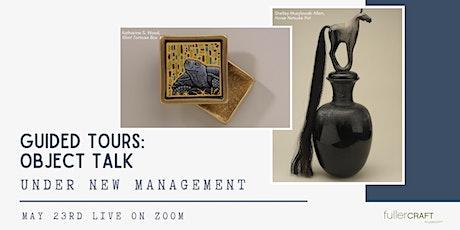 Fuller Craft Museum: Object Talk tickets