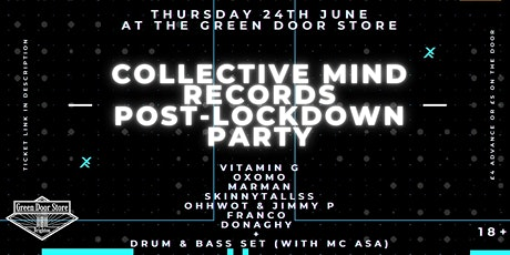 Collective Mind Records: Post-lockdown Party tickets