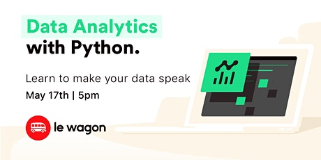 Data Analytics with Python ingressos