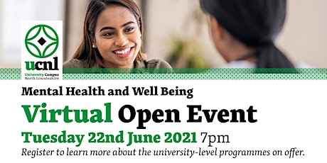 Mental Health and Well Being Virtual Open Event - June tickets