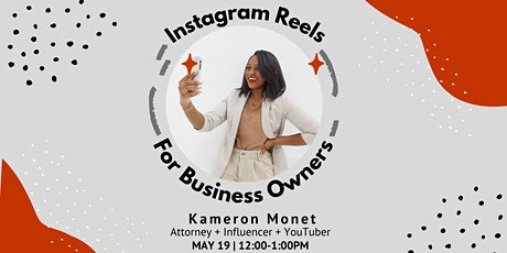 Instagram Reels for Business Owners tickets