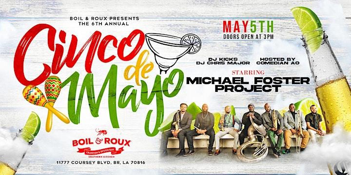 Boil & Roux Presents Cinco de Mayo image