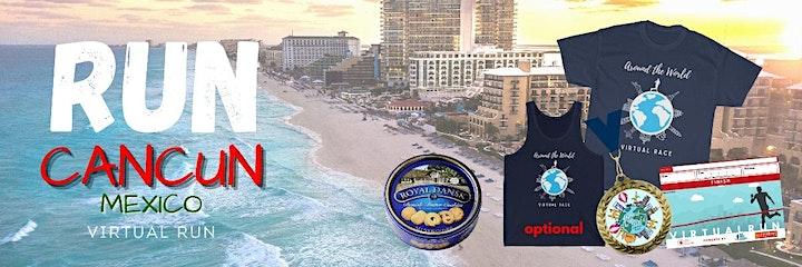Run Cancun, Mexico Virtual Race image
