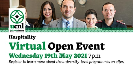 Hospitality Virtual Open Event - May tickets