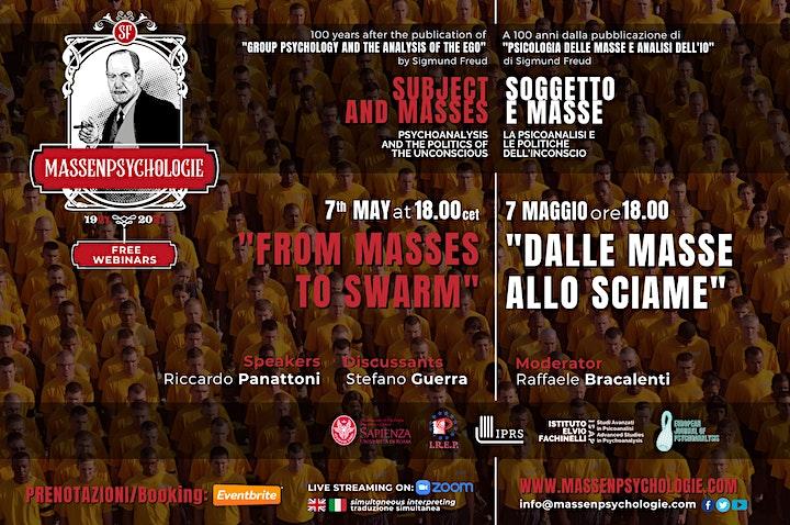 """Immagine """"From Masses to Swarm"""" - """"Dalle masse allo sciame"""""""