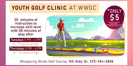Junior Golf Clinic (Ages 8-12) tickets