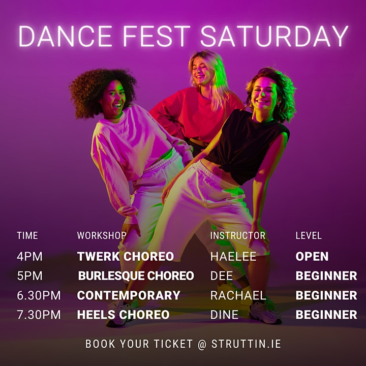 STRUTTIN DANCE FEST 2021 image