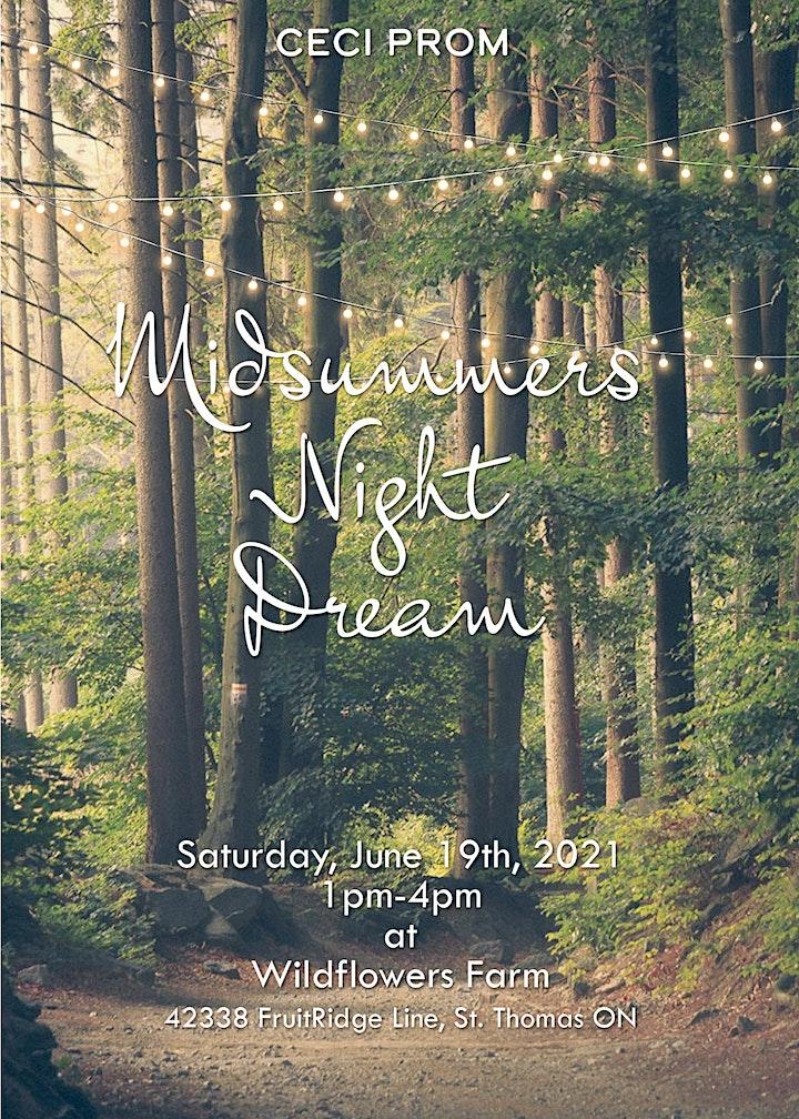 CECI Prom A Midsummers Night Dream 1pm image