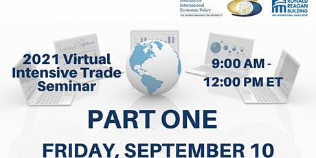 PART ONE - 9/10- Morning Session -  2021 Virtual Intensive Trade Seminar tickets