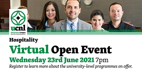Hospitality Virtual Open Event - June tickets