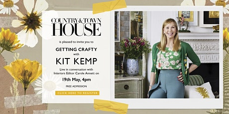 Getting Crafty with Kit Kemp x Country & Town House tickets