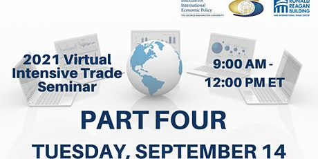 PART FOUR - 9/14 - Morning Session -  2021 Virtual Intensive Trade Seminar tickets