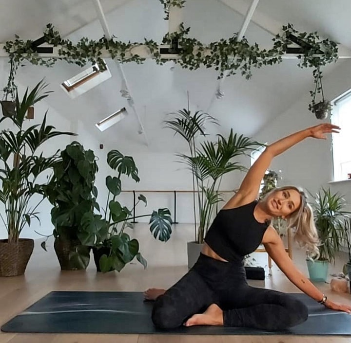 The Kind Events: Morning Pilates Flow  with Sophie Mallen image