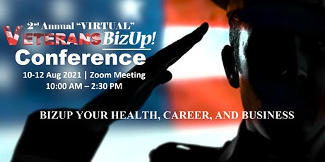 2nd Annual VeteransBizUp Virtual Conference tickets