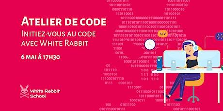 Initiez-vous au code avec White Rabbit Code School ! billets