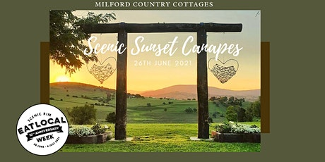 Scenic Sunset Canapes tickets