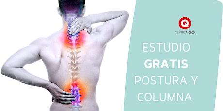 Revisión GRATUITA de postura y columna vertebra/ Internal Spinal Screening entradas