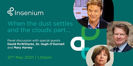 When the dust settles and the clouds part - Panel Discussion - May 27 tickets