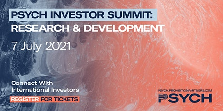 PSYCH Investor Summit: Research & Development tickets