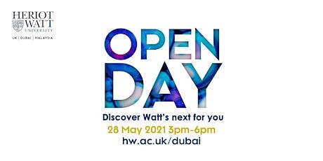 Heriot-Watt Open Day May 28th 2021 tickets