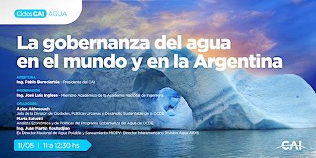 #CharlasCAI La gobernanza del agua en el mundo y en la Argentina entradas