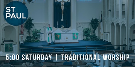 Traditional Worship 5 pm tickets