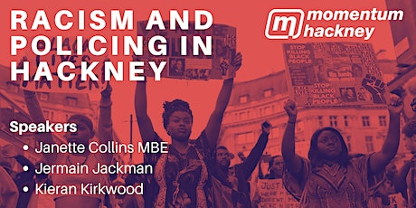 Racism and Policing in Hackney tickets