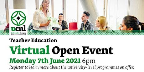 Teacher Education Virtual Open Event - June tickets