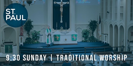 Traditional Worship 9:30  am tickets