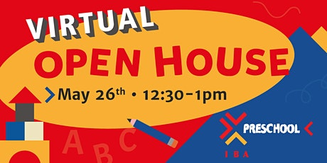 IBA's Preschool Virtual Open House entradas