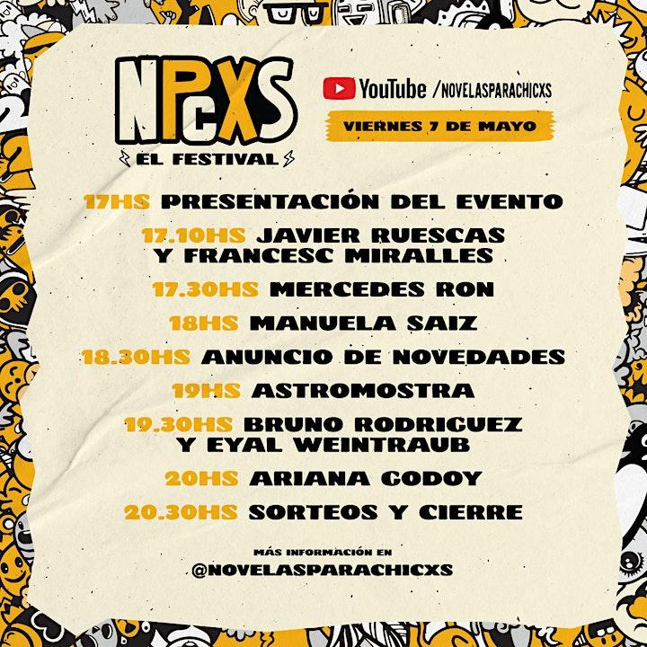 Imagen de Novelas para chicxs. El festival.